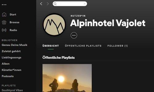 Songare l' Alto Adige – su Spotify