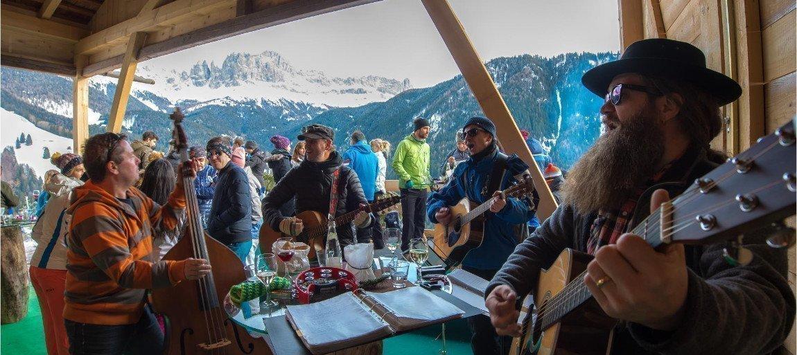 Berglertafel im Winter