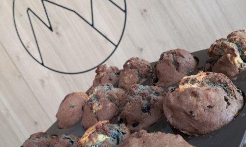 Muffins di mirtilli