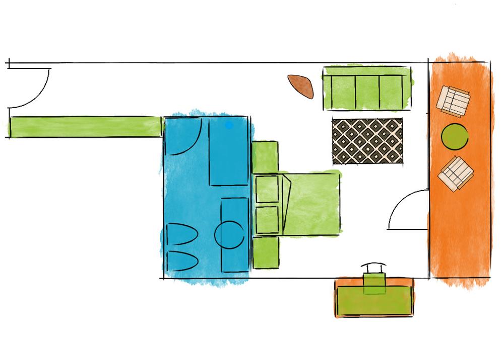 Doppelzimmer Enrosadira