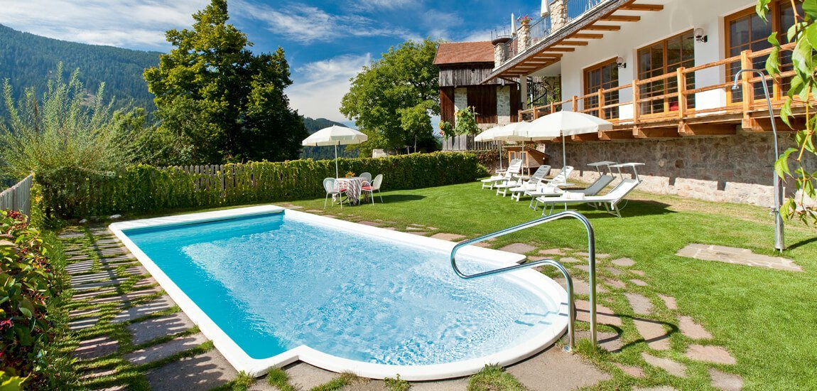 Looking for a hotel with pool in South Tyrol?