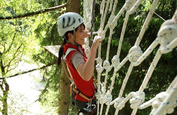 Per arrampicare nelle Dolomiti potete andare anche nelle falesie