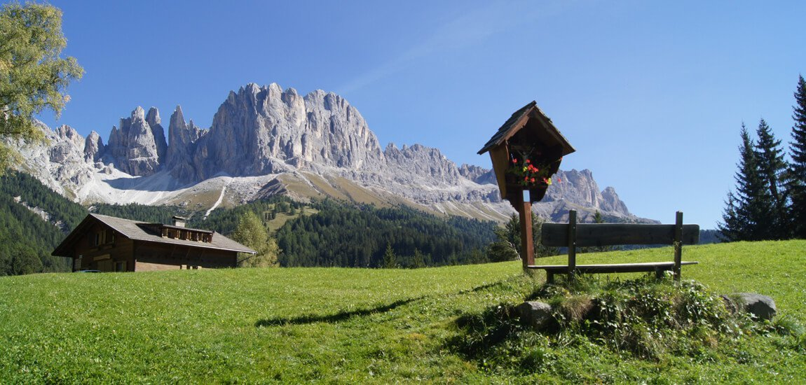 Nature holidays in South Tyrol in the middle of the Dolomites