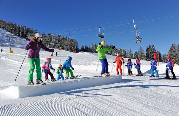 Vacanze sugli sci nell'area sciistica Carezza o sull'Alpe di Siusi