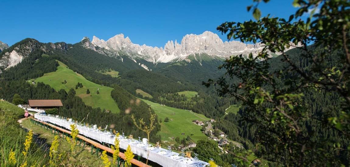 Excursions on holiday in Tiers on the Rosengarten