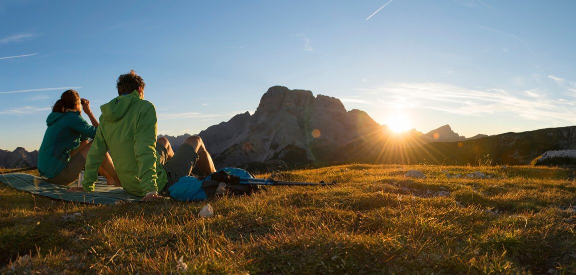 From the hotel for hikers in the Dolomites you conquer South Tyrol on foot