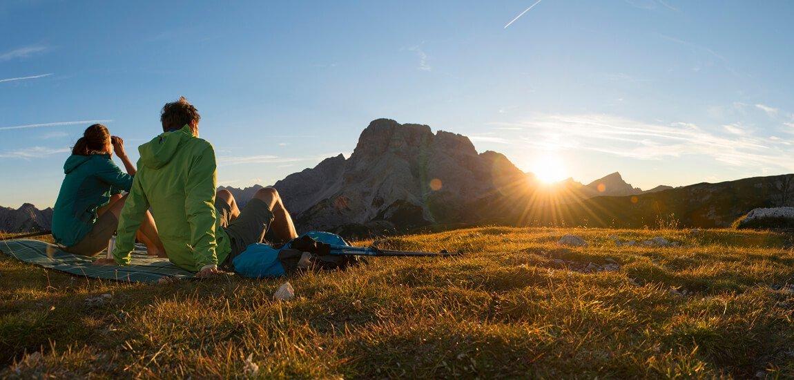Dall'hotel per escursionisti nelle Dolomiti conquisterete l'Alto Adige a piedi