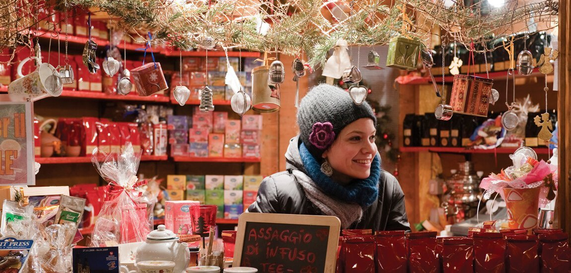 In a Christmas holiday in South Tyrol you can visit romantic Christmas markets