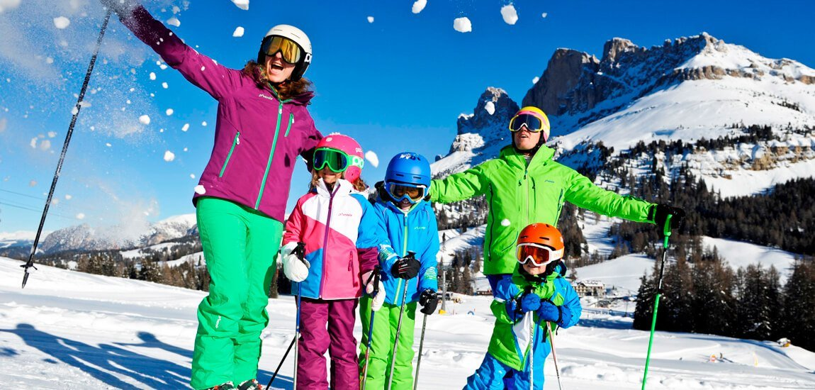 Vacanza invernale nelle Dolomiti sci, fondo e molto altro ancora