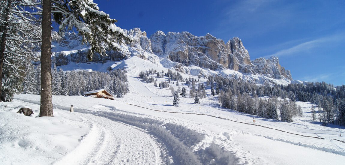 Winter hiking in South Tyrol
