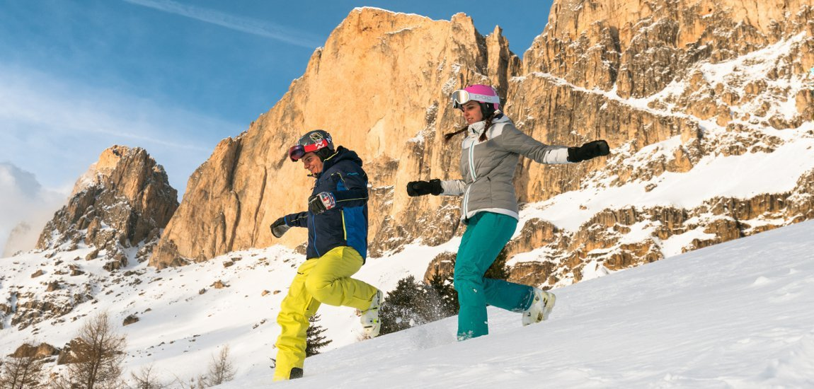 Winter holidays in the Dolomites skiing, cross-country skiing and much more